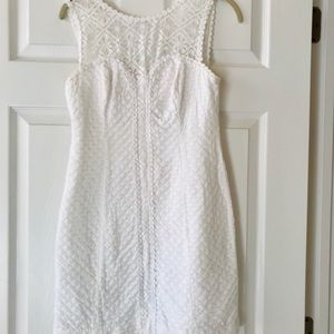 Lilly Pulitzer White Shift Dress